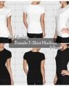 Png Psd Bundle Girl Women T Shirt Mock Up Front Back Etsy