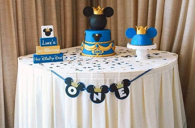 Prince Mickey Mouse Birthday