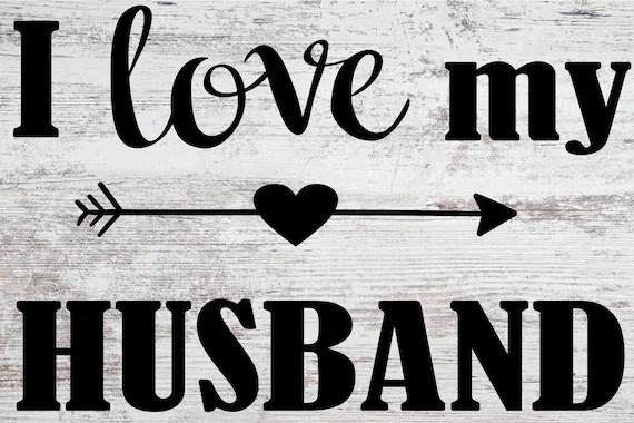 Download I Love My Husband SVG | Etsy