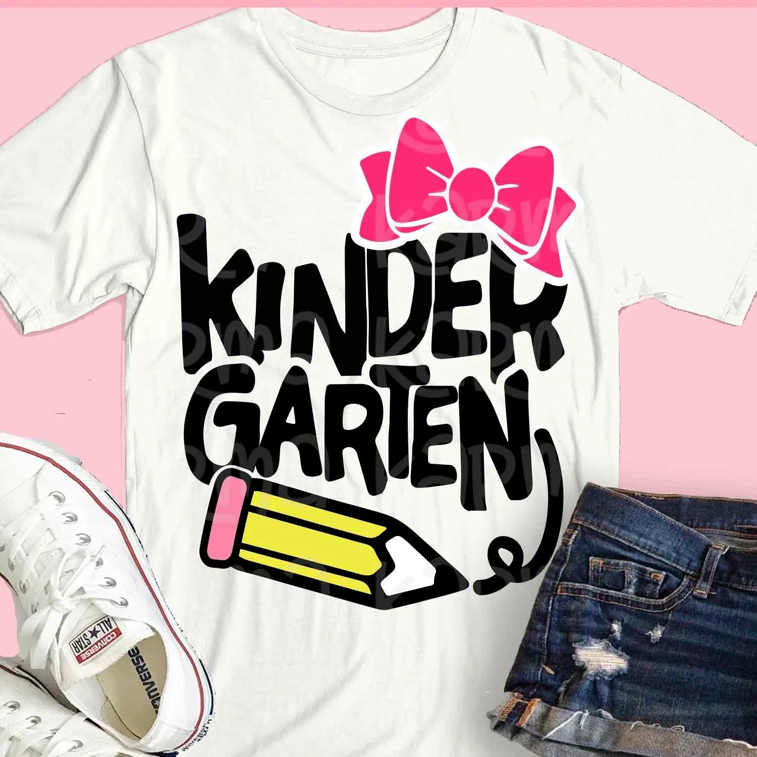 Teacher Svg Kindergarten Svg Kindergarten Shirt Kinder