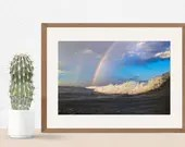 Double Ocean Rainbow from Wildwood Crest 10x15 - Jersey Shore photography | LuckyStarDreams