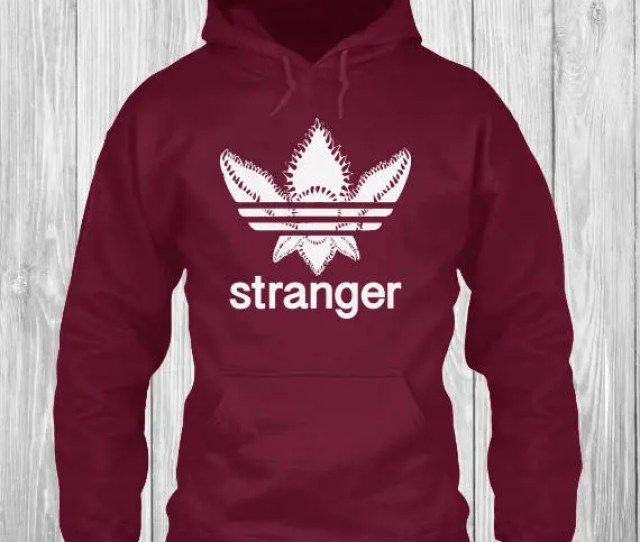 Adidas Demogorgon Hoodie Stranger Hoodie Things Hoodie Upside Down Hoodie