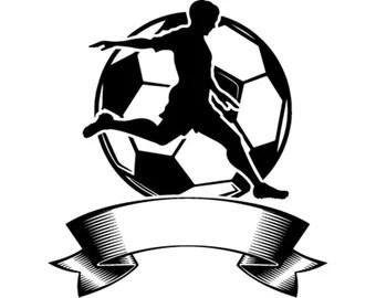 Download Soccer player svg   Etsy