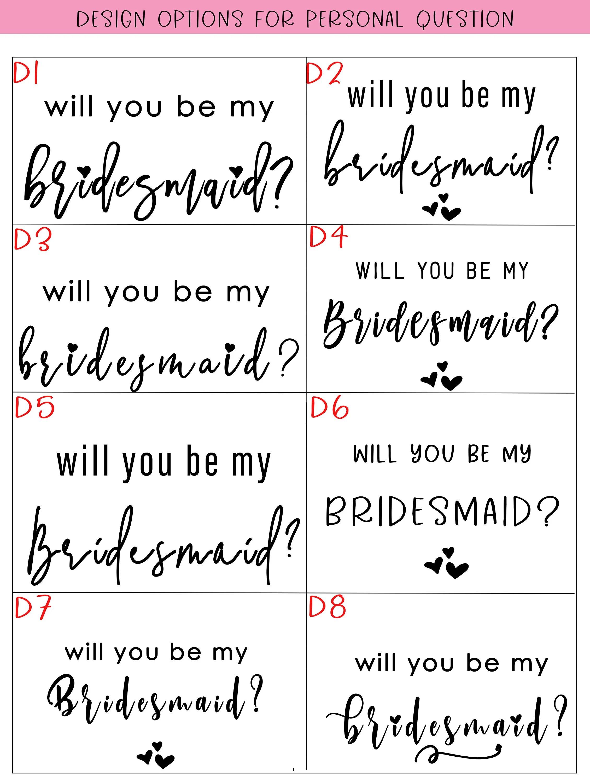 bridesmaid proposal / bridesmaid proposal box / bridesmaid image 9
