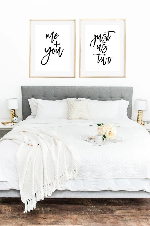 Love Print Couple Print Couple Bedroom Romantic Prints Me Etsy