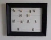 Chalkboard Clothespin Display