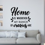 Home Wall Decal Family Quote Home Sweet Home Home Wall