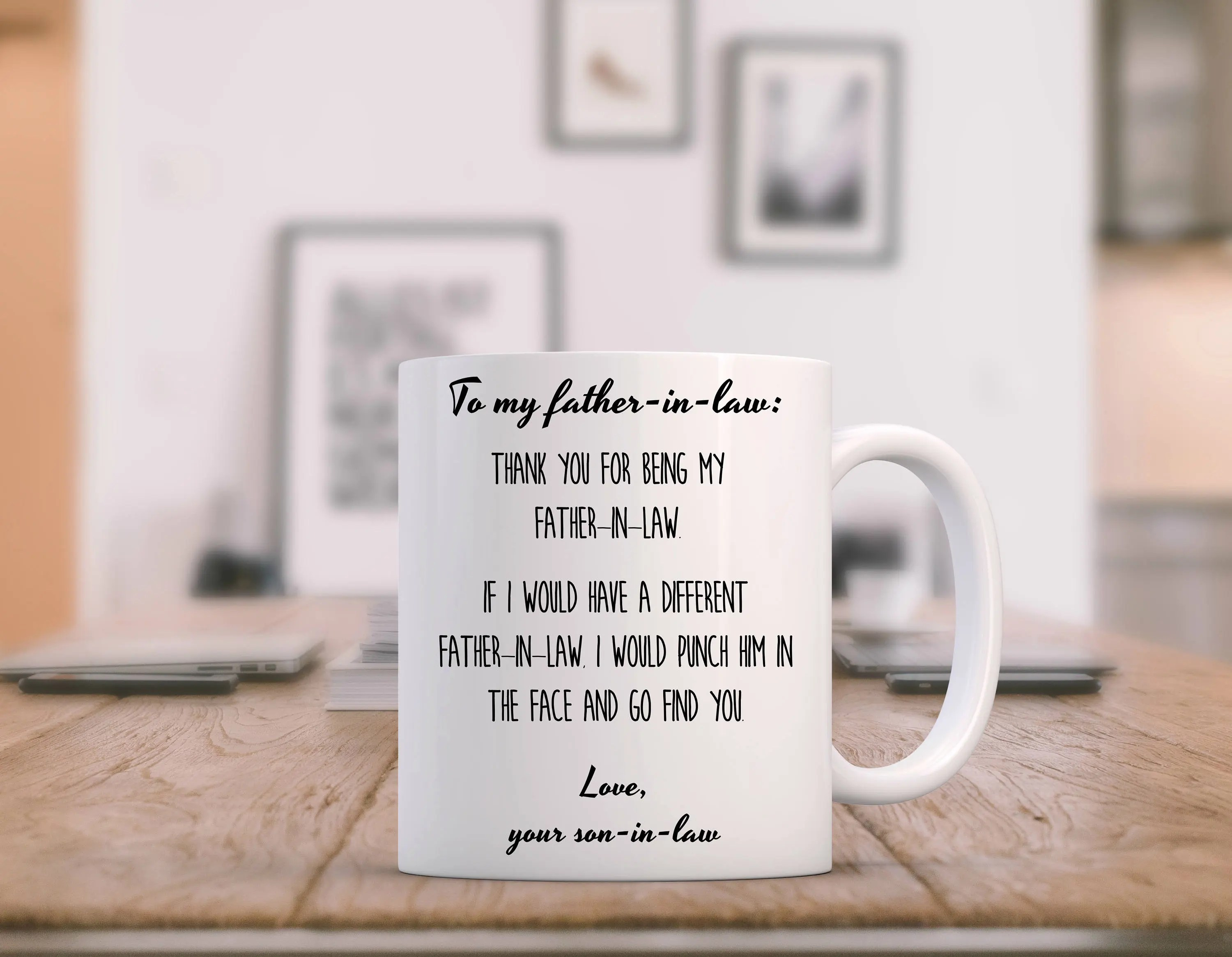 Items Similar To Father In Law Gift Funny, Father Of The