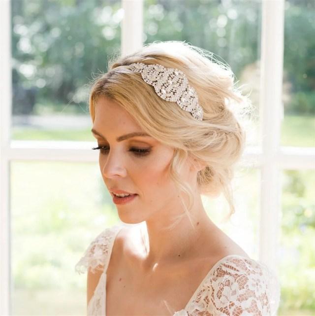 vintage bridal hair accessories, wedding hair piece, 1920 wedding headpiece, vintage bridal hair piece, bridal headpiece, gatsby headband