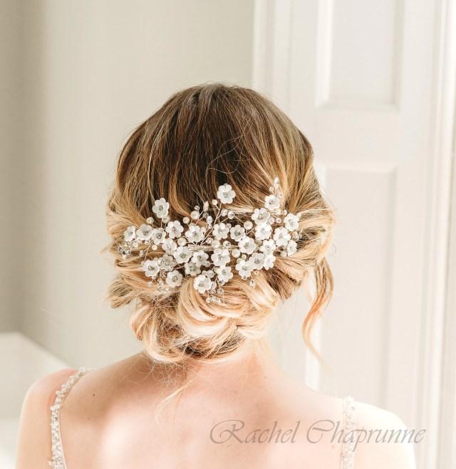 white flower headpiece, daisy bridal headpiece, bridal hair accessories, bridal headpiece flowers, daisy wedding headpiece, daisy headpiece