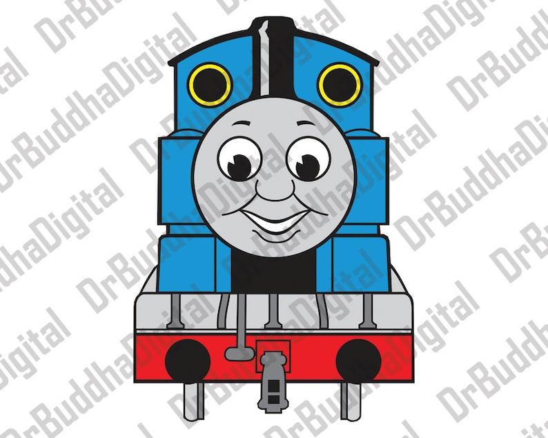 Thomas Silhouette Train Cameo