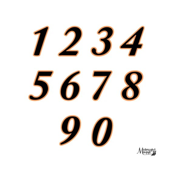Download SVG Numbers with Shadow Layer Cricut and Silhouette Cut ...