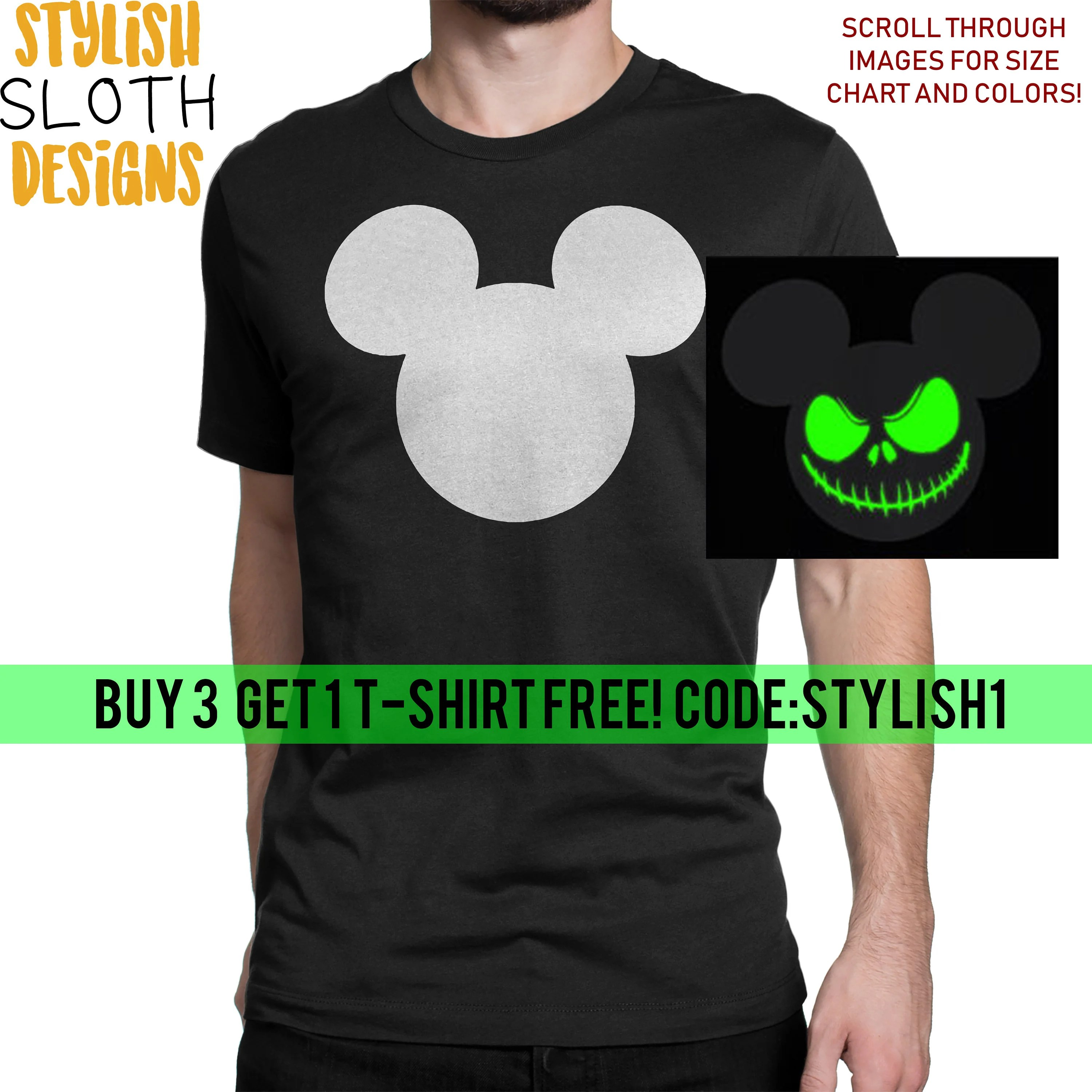 Disney Micky Mouse Nightmare Before Christmas Jack
