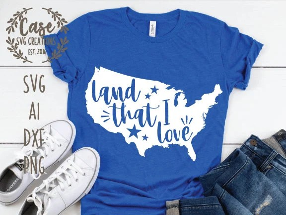 Download Land that I Love SVG Cutting File, AI, Dxf and Printable ...