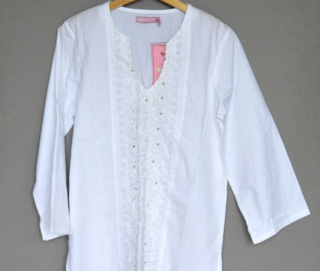 White Blouse Nos Cotton Peasant Blouse Boho Top Embroidered Summer Blouse Long Sleeve Shirt Embroidery Batiste Blouse Medium Size