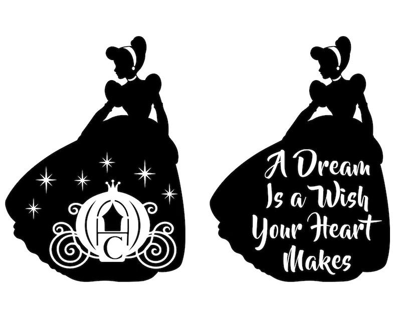 Download Cinderella SVG Princess SVG Disney Princess Castle Svg | Etsy