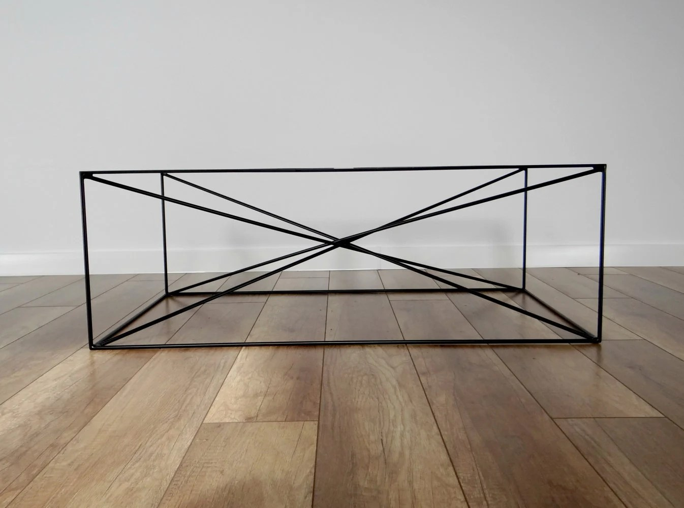 spider steel coffee table base 100x60cm large modern coffee table legs black metal coffee table legs industrial from stalovestudio