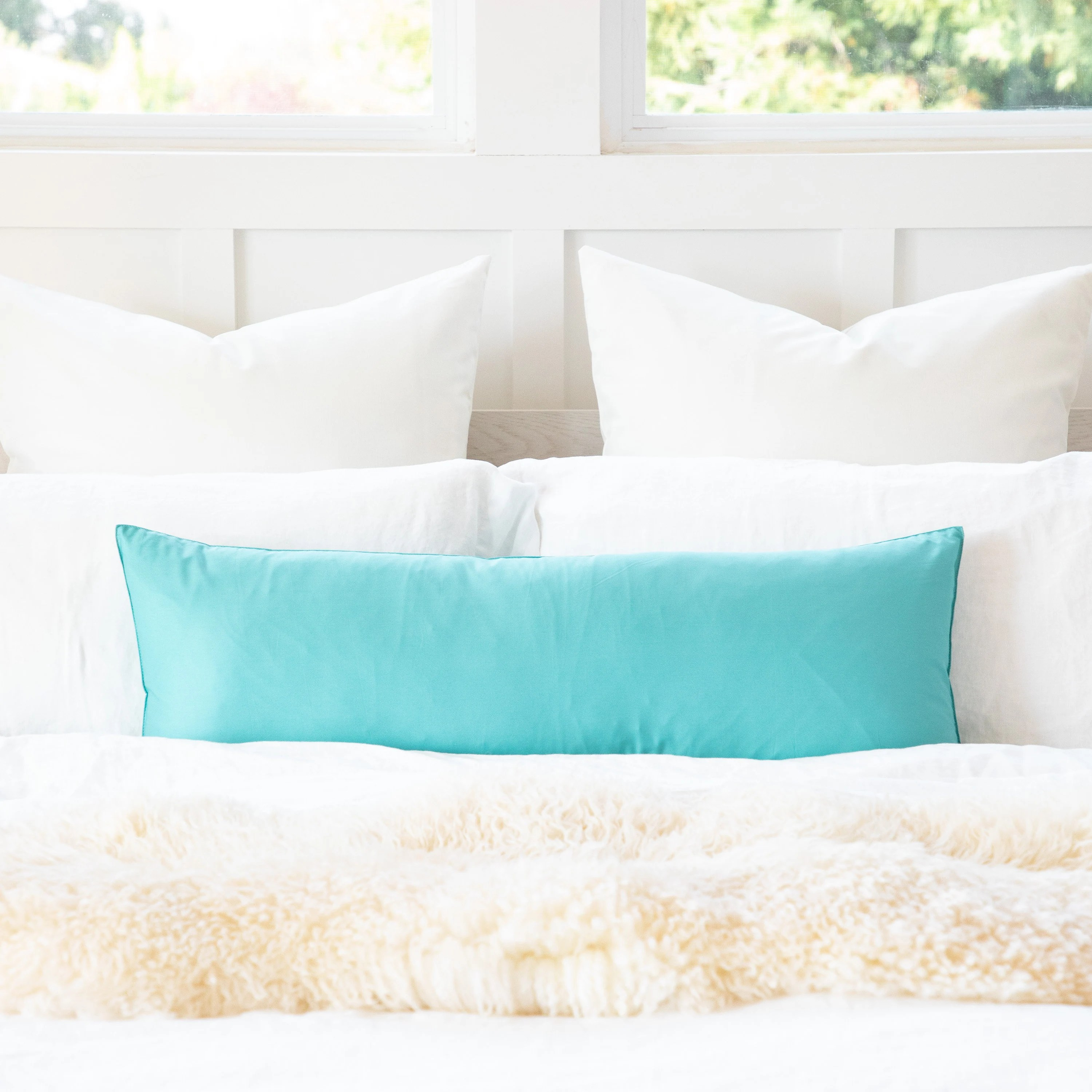 teal body pillow etsy