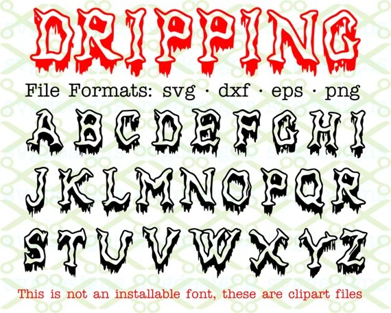 dripping letters | mamiihondenk org