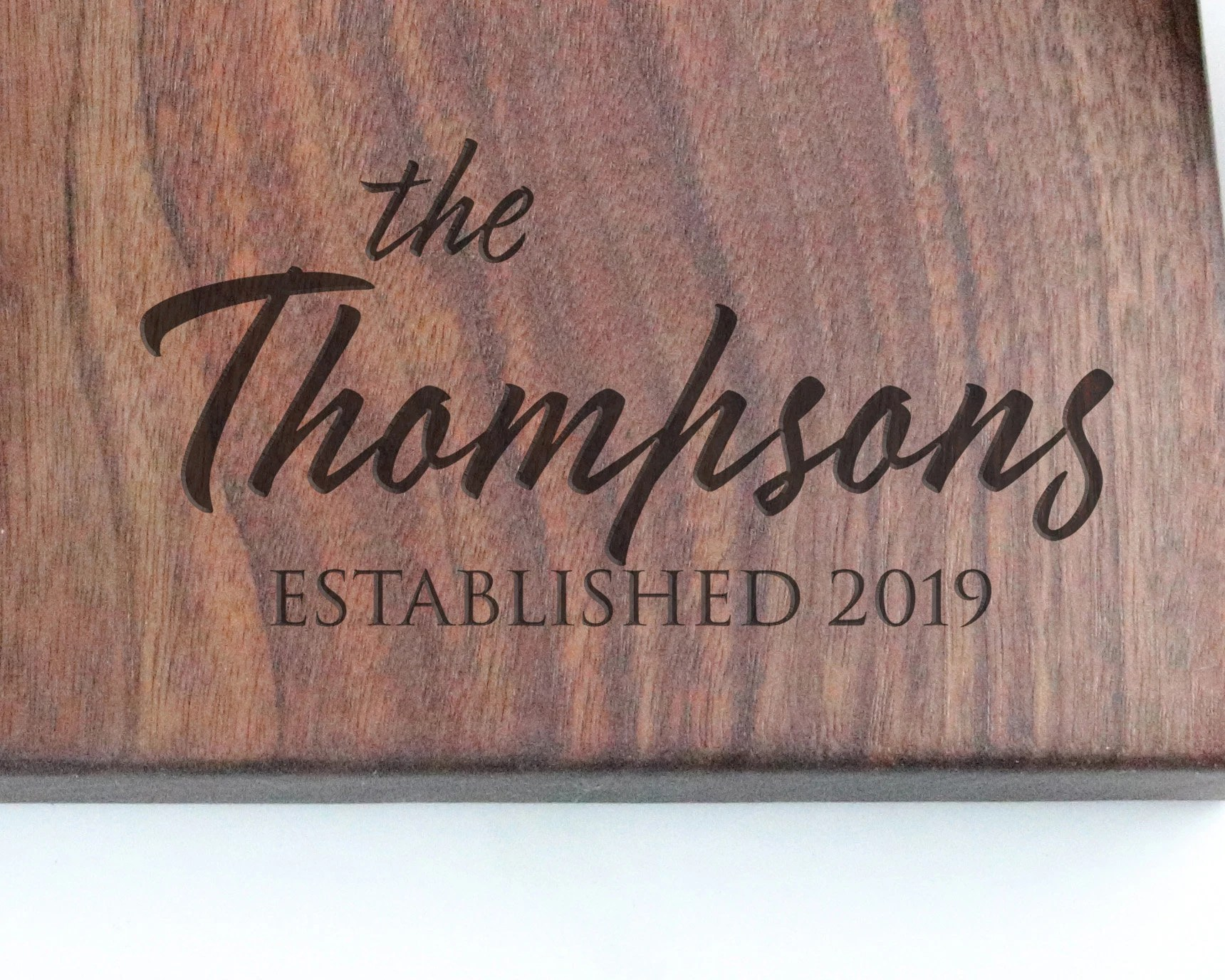 Engraved Cutting Board Customized Chopping Board Gifts for image 1