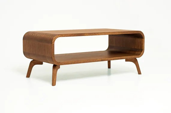 bespoke coffee table mid century coffee table art deco coffee table sofa table low coffee table in solid wood modern coffee table