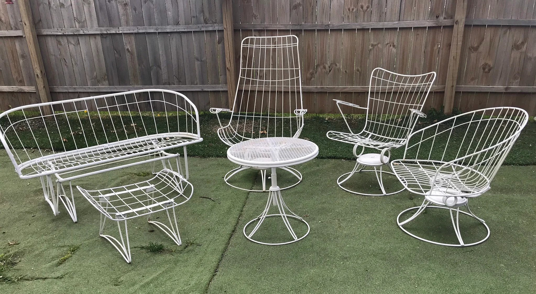 mid century homecrest patio furniture