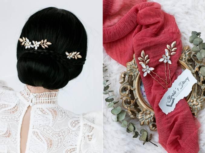 bridal hair pins, wedding hair pins, vintage hair jewelry, bridal hairpieces, wedding hair accessories