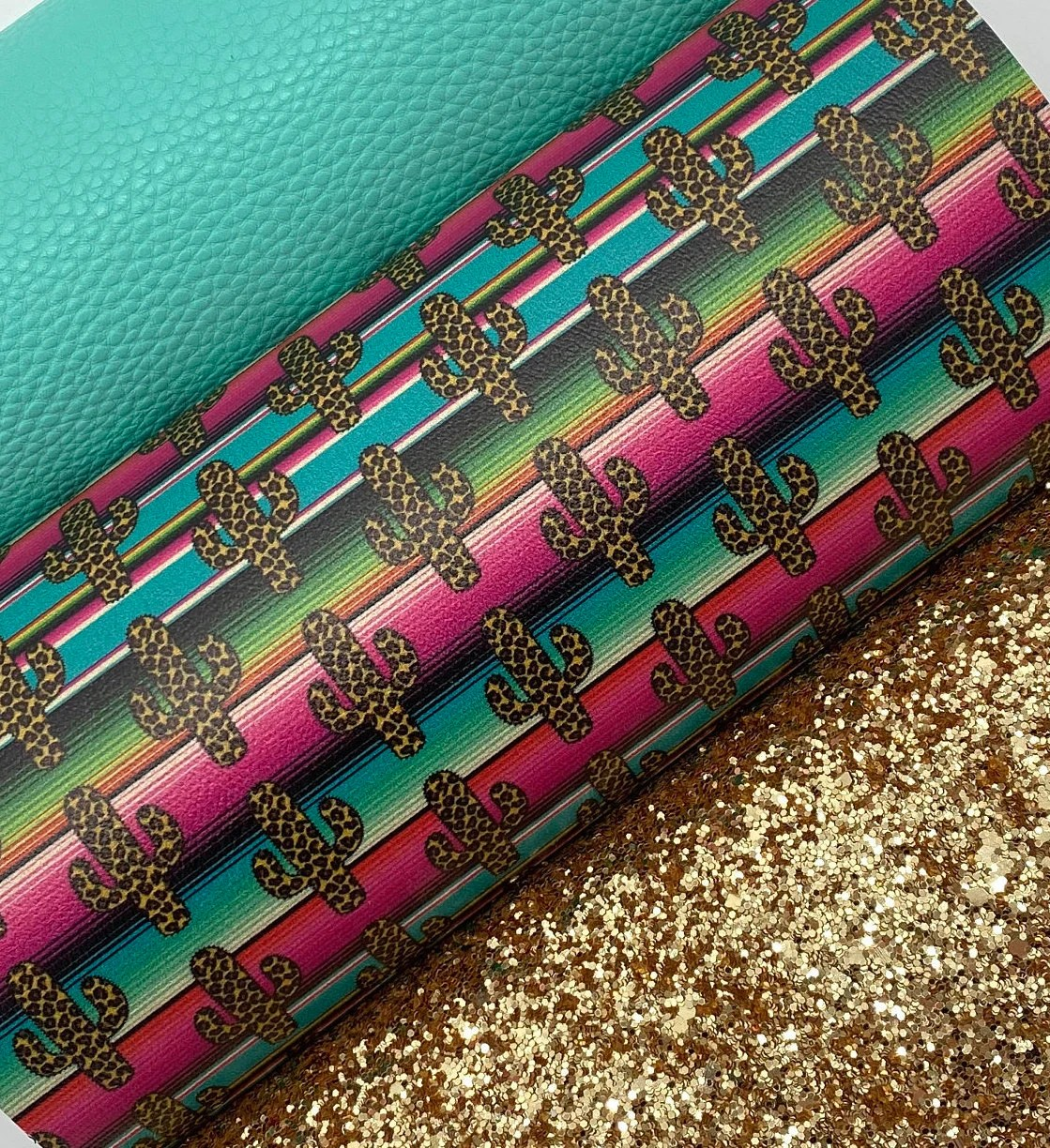 printed faux leather etsy