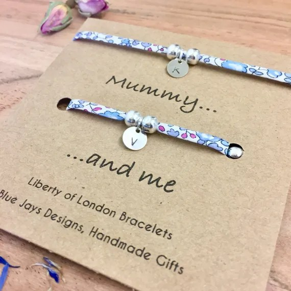 Mum and Daughter Bracelets