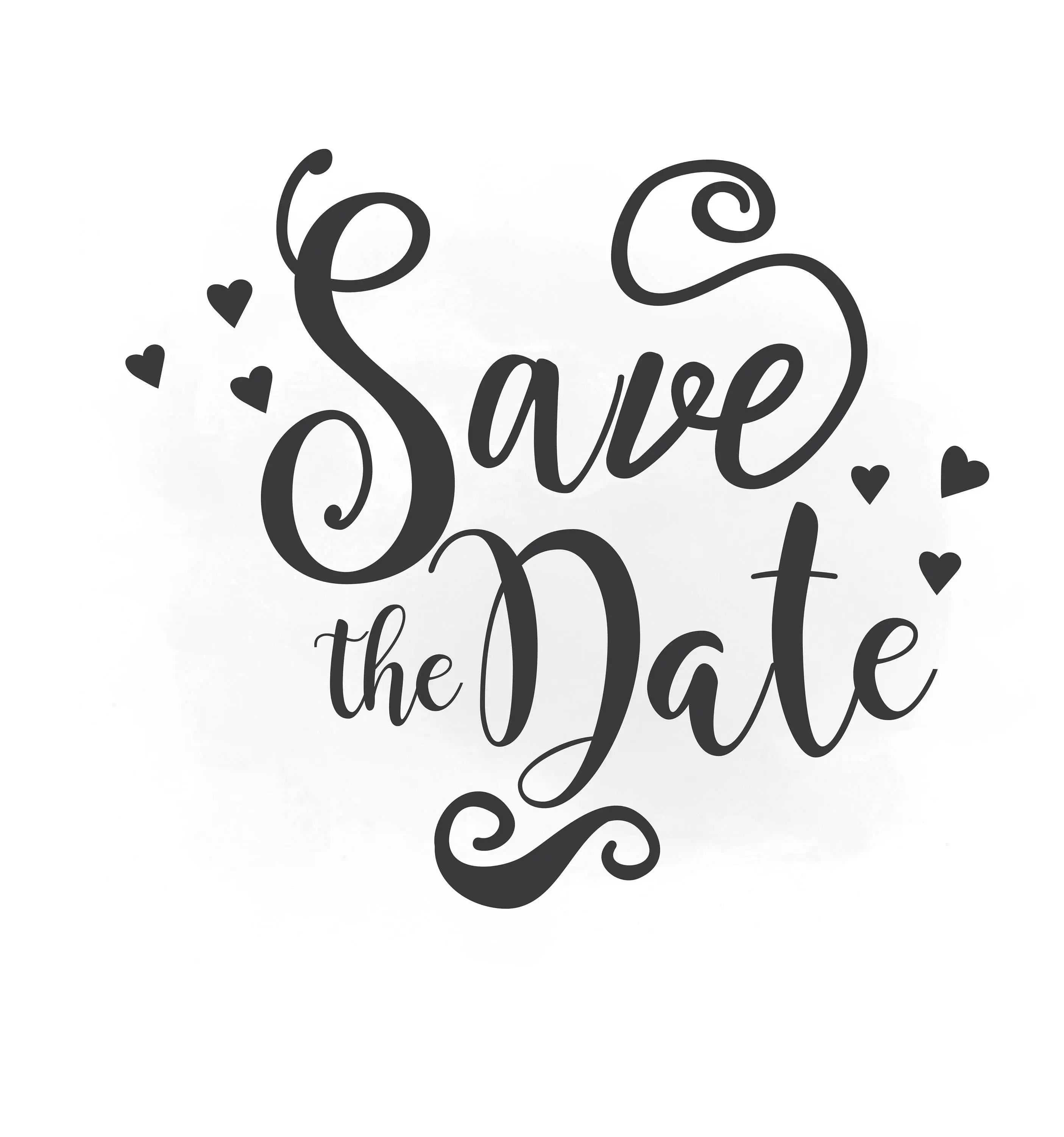 Save The Date Svg Clipart Wedding Annuncment Save The Date