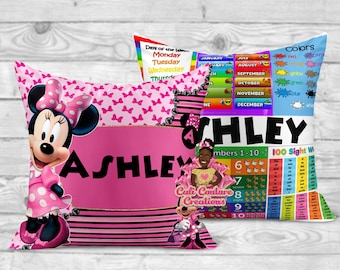 minnie mouse pillow etsy