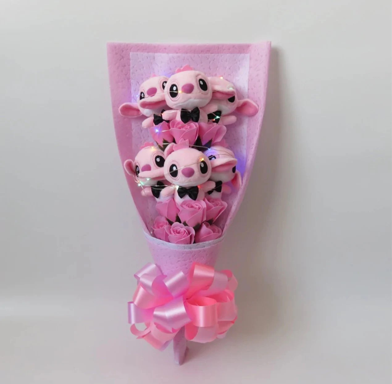 Inspired by Disney Stitch and Lilo stuffed cartoon bouquet image 5