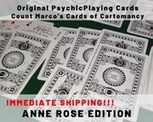 PSYCHIC PLAYING CARDS! Start Reading Now! The Anne Rose Deck - A great alternative to Tarot Decks!