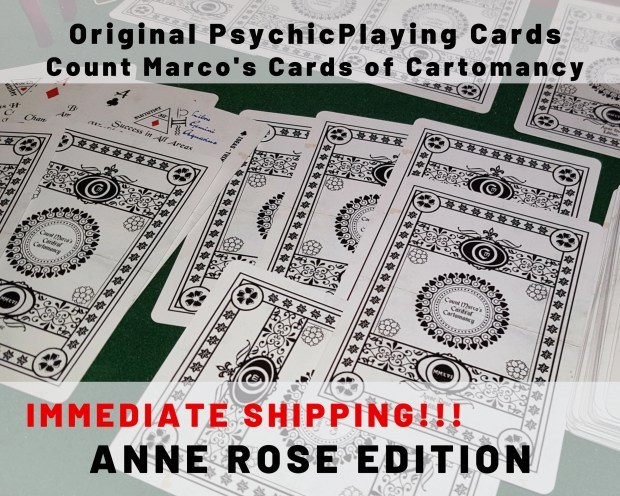 PSYCHIC PLAYING CARDS! St...