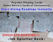 Oracle Cards - Psychic Playing Cards! Give Psychic Readings Instantly!
