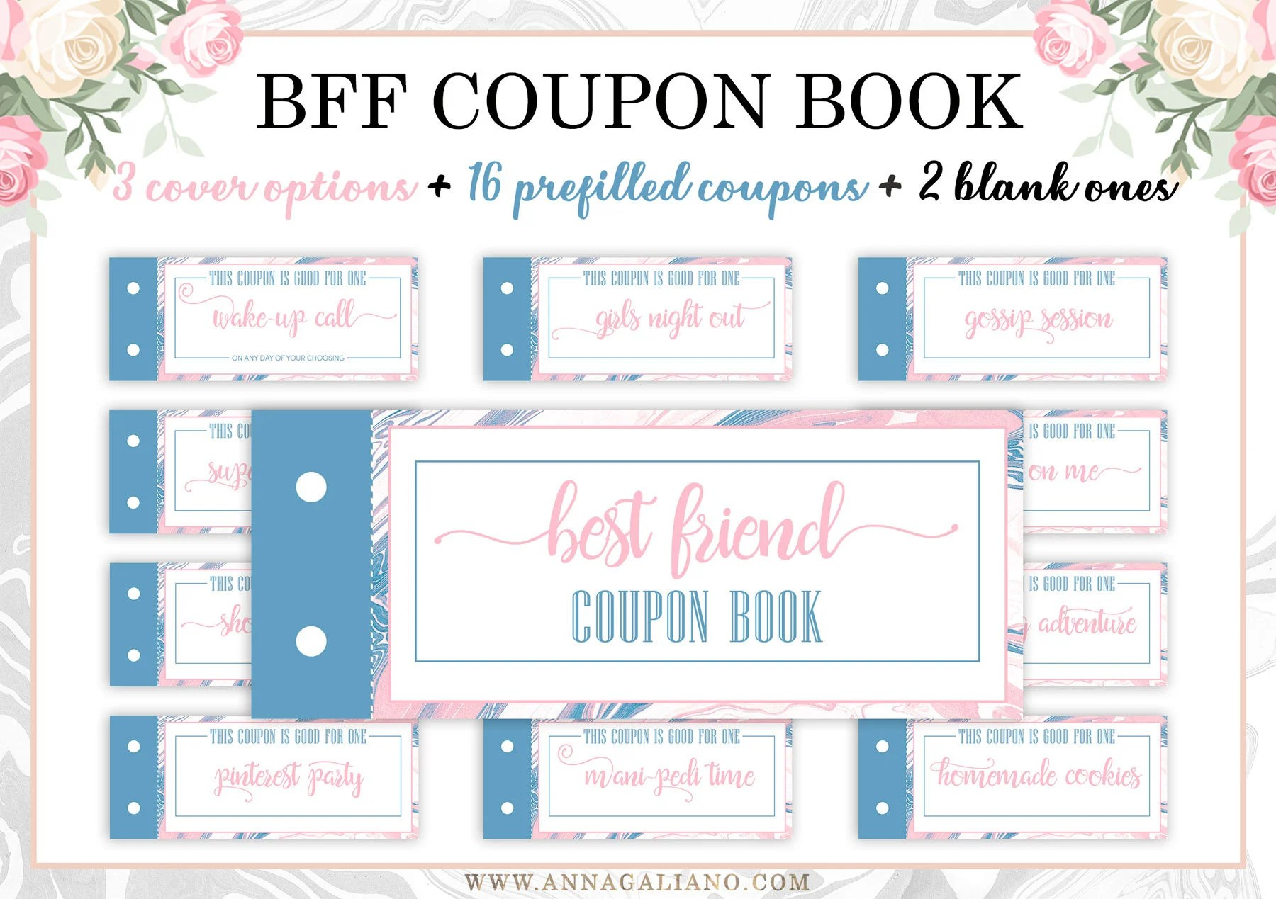 Best Friends T Printable Coupons Coupon Book Birthday