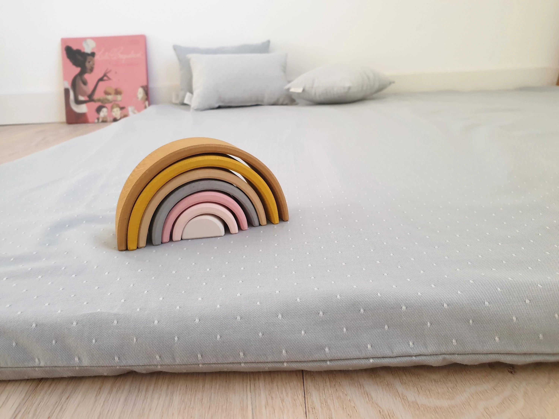 matelas de sol bebe tapis de jeu montessori matelas motricite libre tapis pour nido oeko tex tapis d eveil cadeau naissance