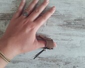 Release ring for oriental shooting with Hungarian kassai bow, unisex accessory for archers, traditional archery equipment