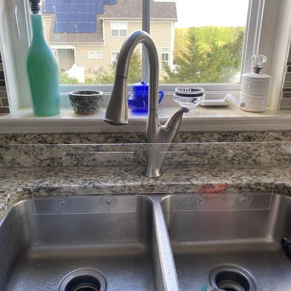 splash guard 1 larger for kitchen sink