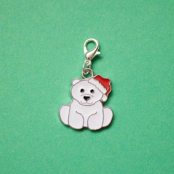 Polar bear planner charm from LJDesignsNE
