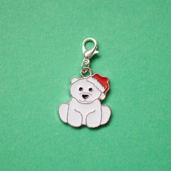 Polar bear planner charm from LJDesignsNE