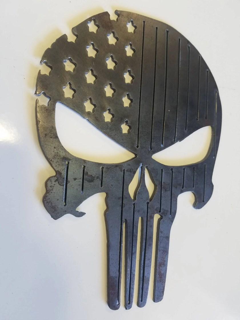Punisher Flag Plasma Meta...