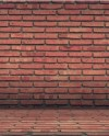 Brick Wall Digital Background Backdrop Red Brick Floor Etsy