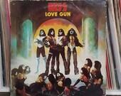 Kiss Love Gun Rock LP Cas...