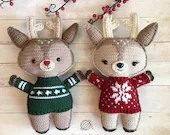 Holiday Deer Crochet Patt...