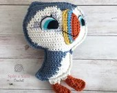 Oona the Puffin Crochet Pattern