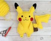 Pikachu Crochet Pattern