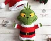 The Grinch Crochet Pattern