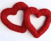 Keyhole Heart Crochet Pattern