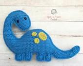 Brachiosaurus Amigurumi Crochet Pattern